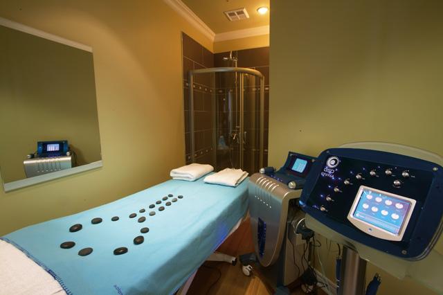 hot massage rooms